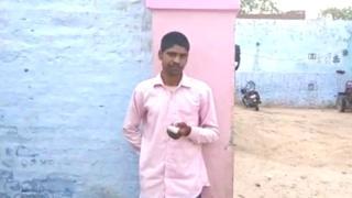 Man 'chops off finger' after vote mistake