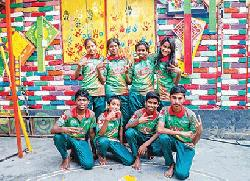 Eight Street Children from Bangladesh set to play at Lord's