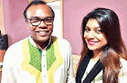 Sabrina Bashir releases song with Fazlur Rahman Babu