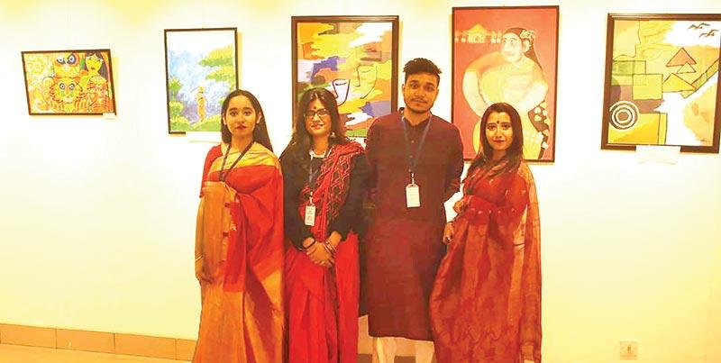 'Banglar Shangskriti' art exhibition held