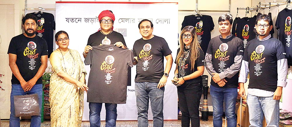 Shwapno launches T-shirt to raise fund for autistic children