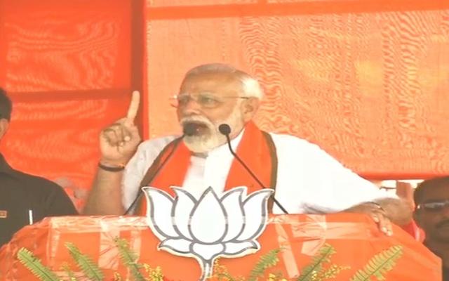 Modi berates Mamata over Ferdous campaign blunder