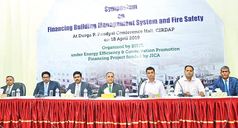 Symposium on 'Financing Building Management System and Fire Safety'