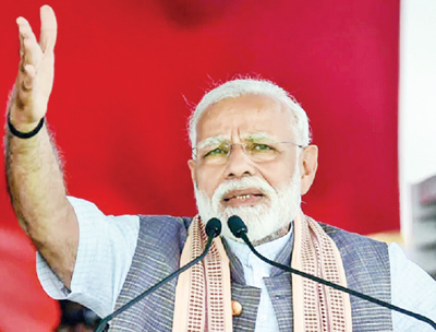 Cong prefers vote bank politics to national interest: Modi