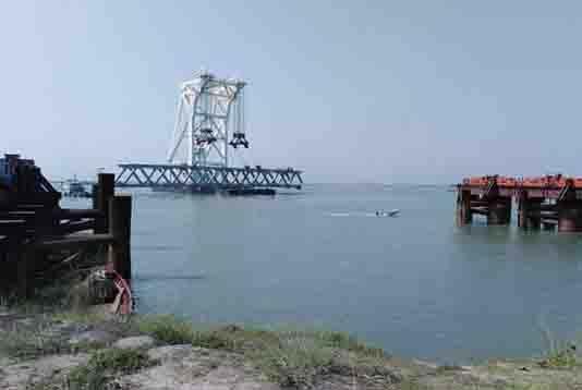 Padma Bridge: Installation of 11th span Tuesday