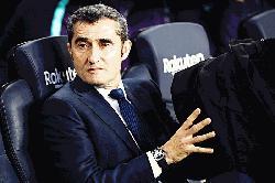 Barcelona relaxed and fresh ahead of final La Liga push: Valverde