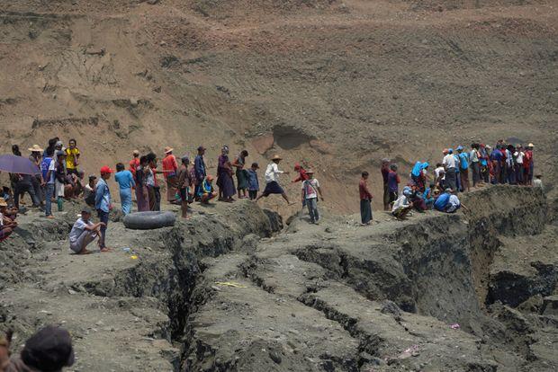 Over 50 believed dead in Myanmar mudslide