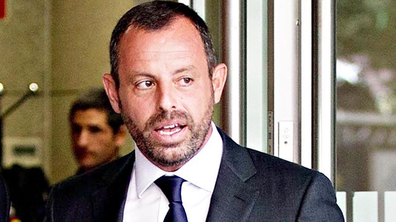 Spain court acquits former Barca president of money laundering