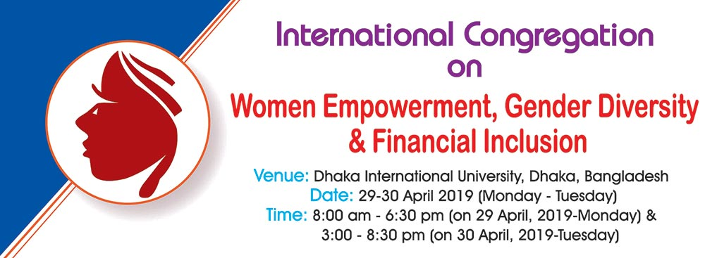 Int'l Congregation on Women Empowerment, Gender Diversity & Financial Inclusion