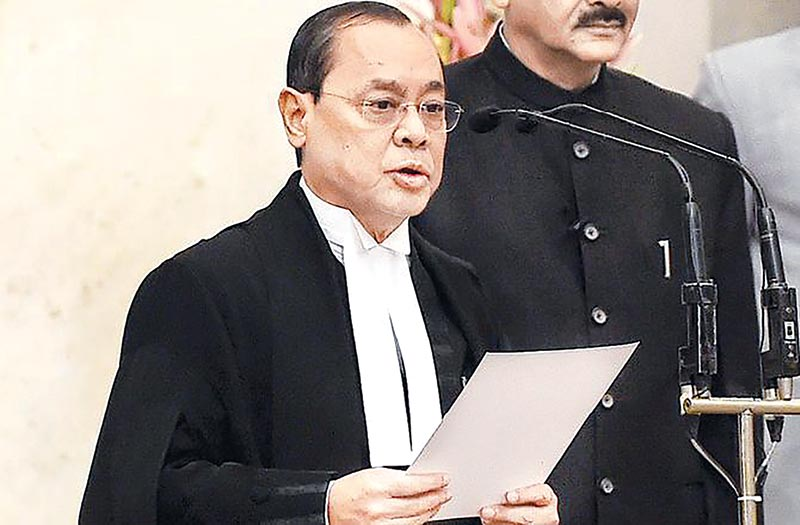 Allegations against the Chief Justice of India