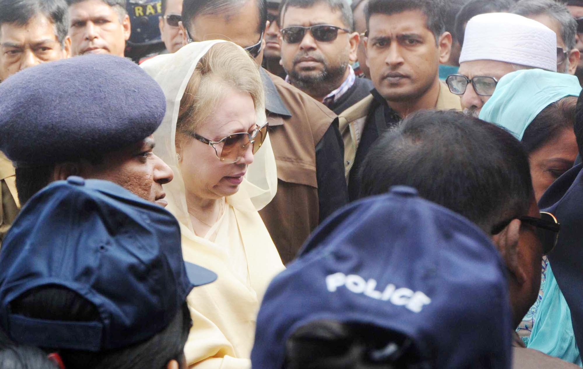 Khaleda's cases transferred to Keraniganj court for hearing
