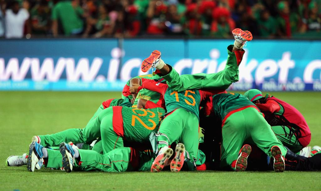 Bangladesh's 2015 win over England named as greatest moment in WC history