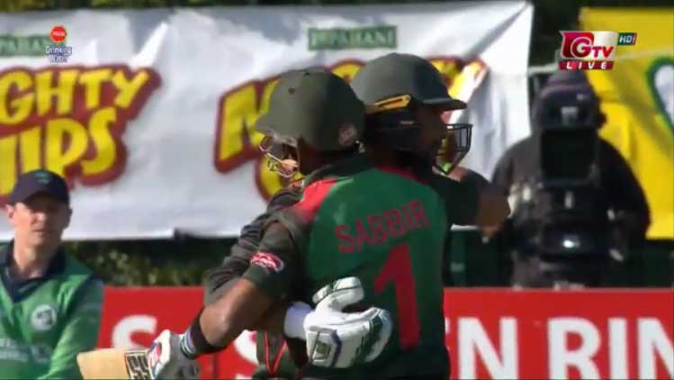 Bangladesh beat Ireland by 6 wkts