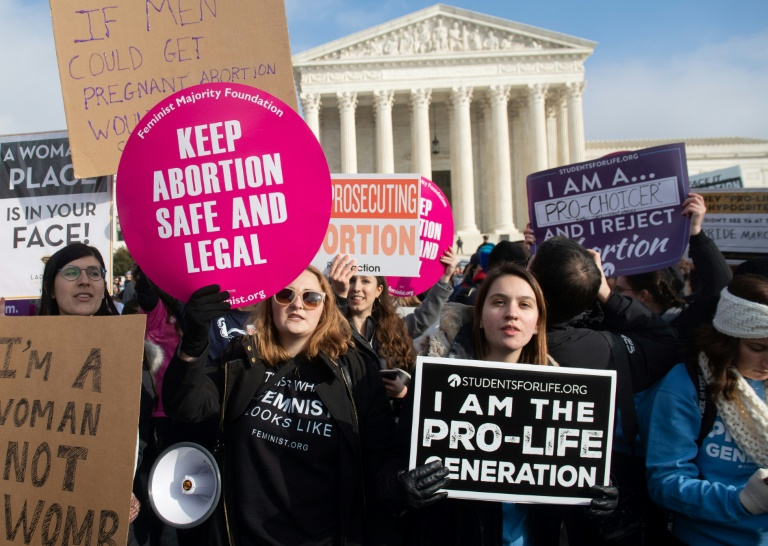 Republicans bid for US SC showdown over abortion