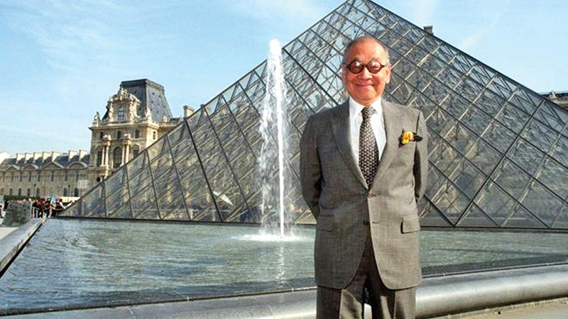 I M Pei, architect behind Louvre pyramid, Doha Museum dies aged 102