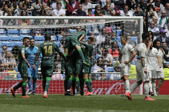 Madrid's miserable season ends in Betis defeat