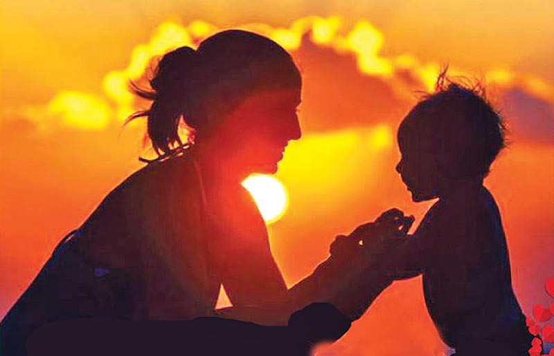 Youth's Reflection: Beloved Mother