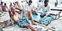 People suffer for acute load-shedding in M'ganj
