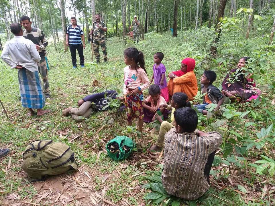 BGB foils BSF bid to push in Rohingyas