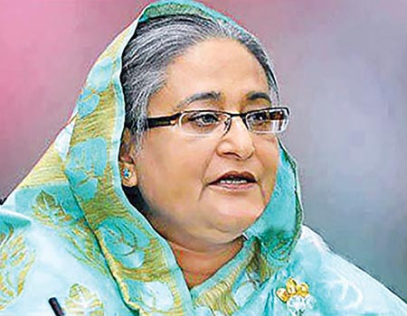 Hasina greets Modi on his stunning victory