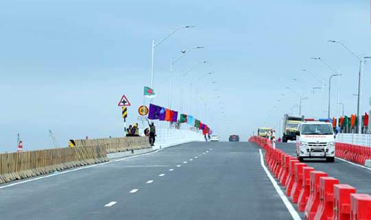 PM opens 2nd Meghna, Gumti bridges to traffic
