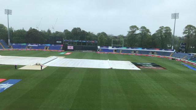 BD-Pak warm-up match delayed due to rain