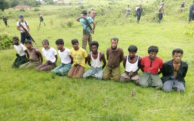 Early release to Myanmar soldiers jailed for Rohingya killings
