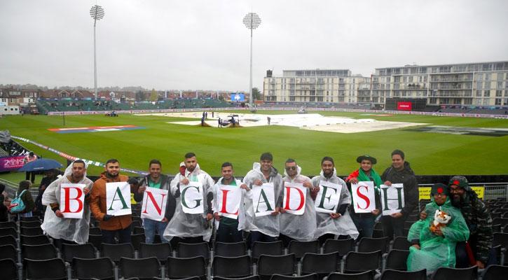 Bangladesh-Sri Lanka match abandoned due to rain