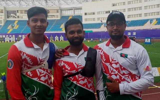 Bangladesh through to round of 8 in men's recurve team, mixed team