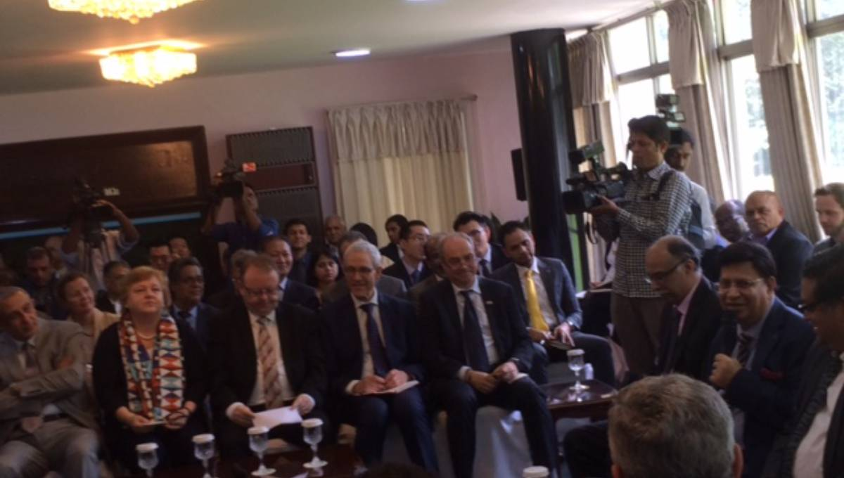 FM briefing diplomats; focus on Rohingya issue