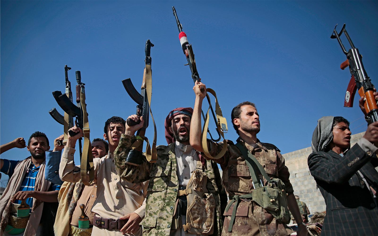 Houthi Rebels (File Photo)