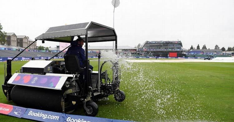 Rain delays New Zealand-India match toss