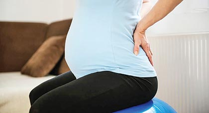 Back Pain: A common ailment during pregnancy