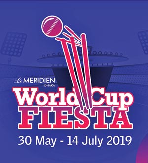 ICC Cricket World Cup at Le Méridien with local delicacies