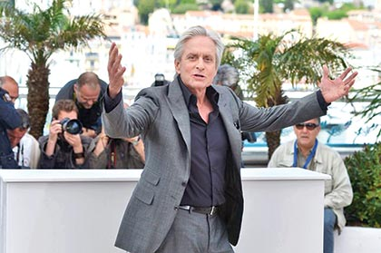 Michael Douglas says he lost best actor at Cannes because of Steven Spielberg's TV bias