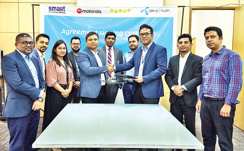 Telenor Health signs deal with Smart Technologies