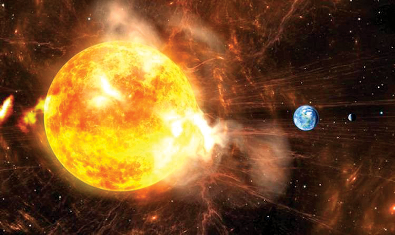 Huge 'superflare' could be hurled out of the Sun and threaten Earth, scientists warn