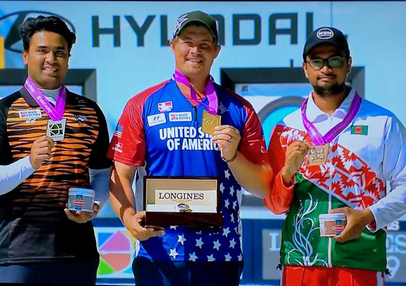 Ruman Shana wins first medal for BD in World Archery