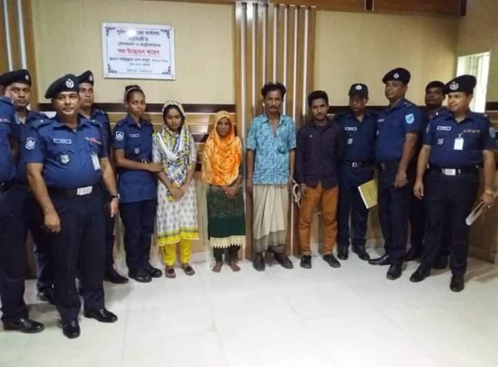 4 held in Natore over torching Narsingdi schoolgirl