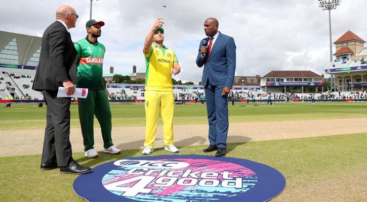Australia win toss, send Bangladesh to bowl