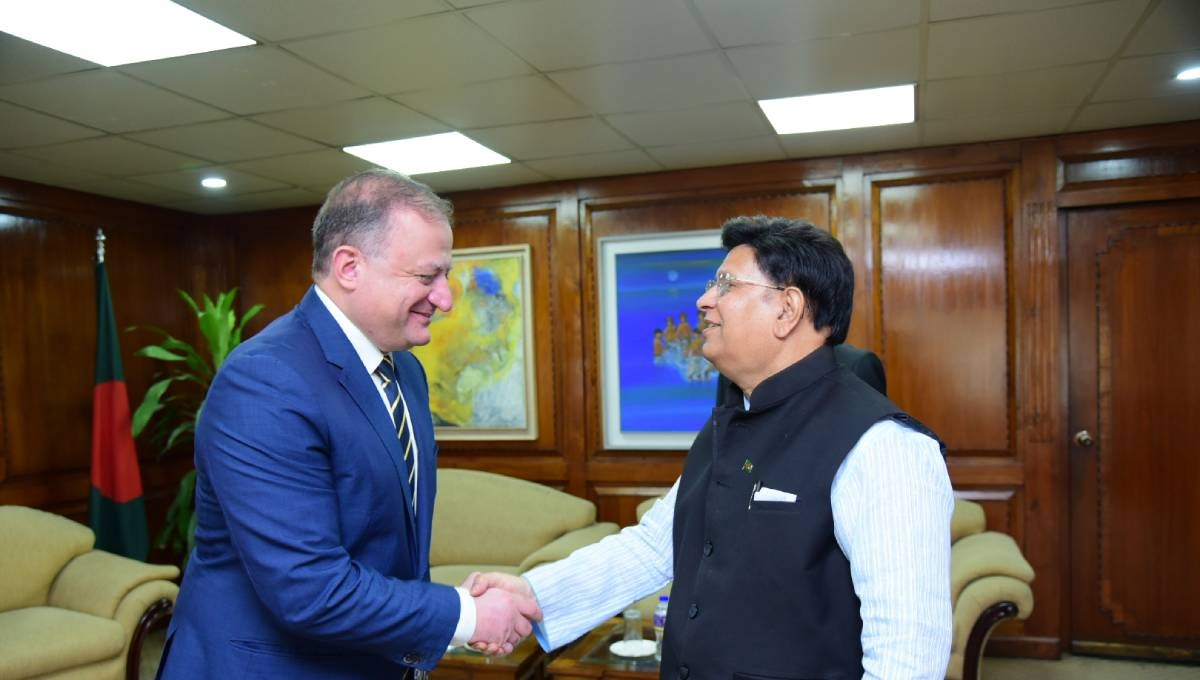 Bangladesh, Georgia keen to boost trade, investment ties