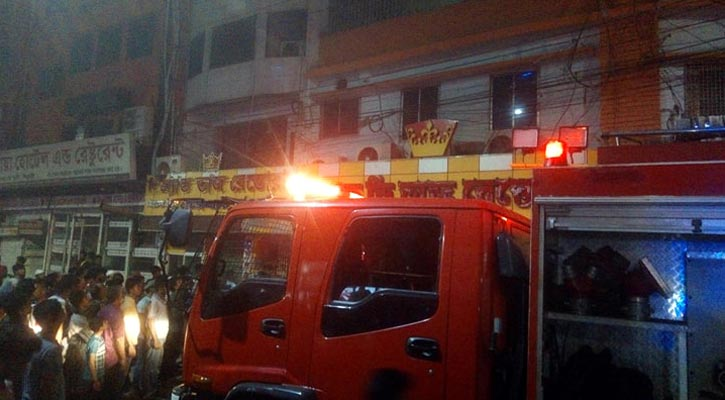 Restaurant catches fire in city