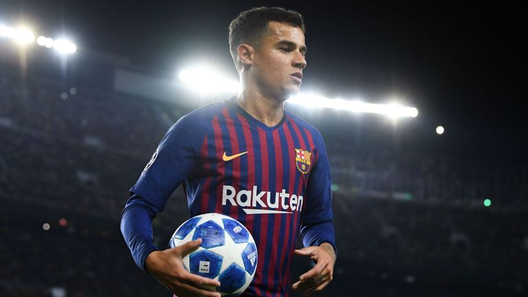 Brazil's Coutinho owns up to poor Barcelona season