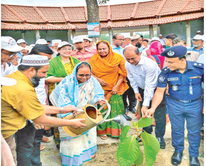 Plantation programme of TMSS
