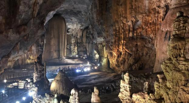 The world's largest caves