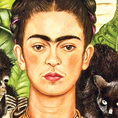 112th birth anniversary of Frida Kahlo