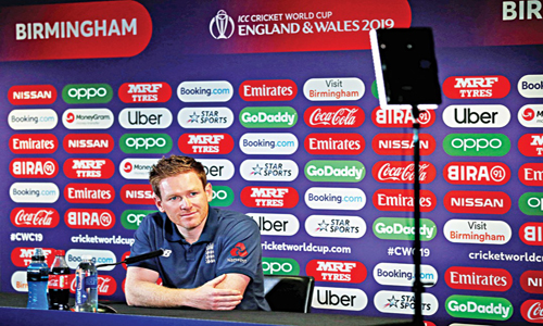 Morgan wants to use 'The E Factor' against Australia