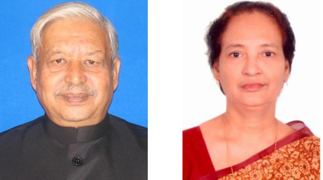 Imran Ahmed and Fazilatunnesa Indira