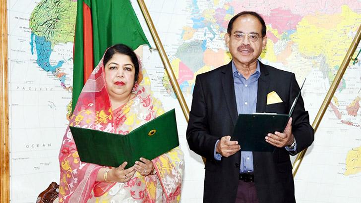 BNP's GM Siraj takes oath