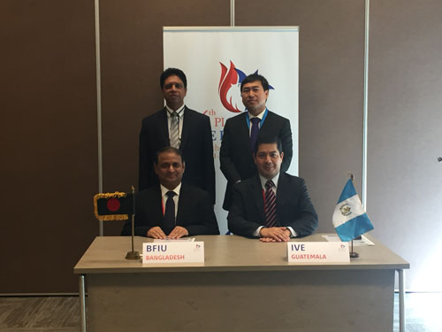 BFIU sings MoU on anti money laundering with Qatar, Paraguay, Guatemala, FIU